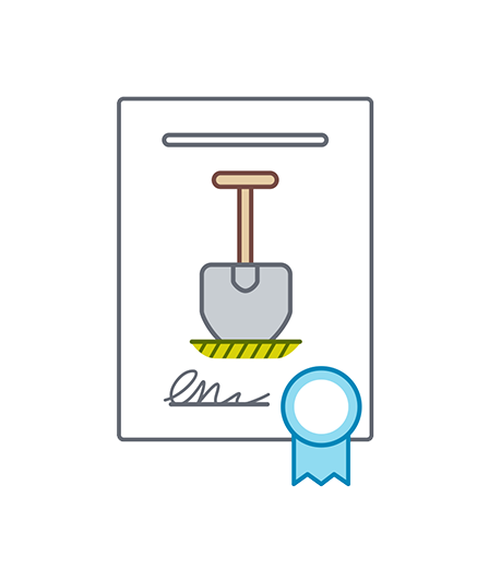 animation icon building permit for deutsche bahn - christian effenberger