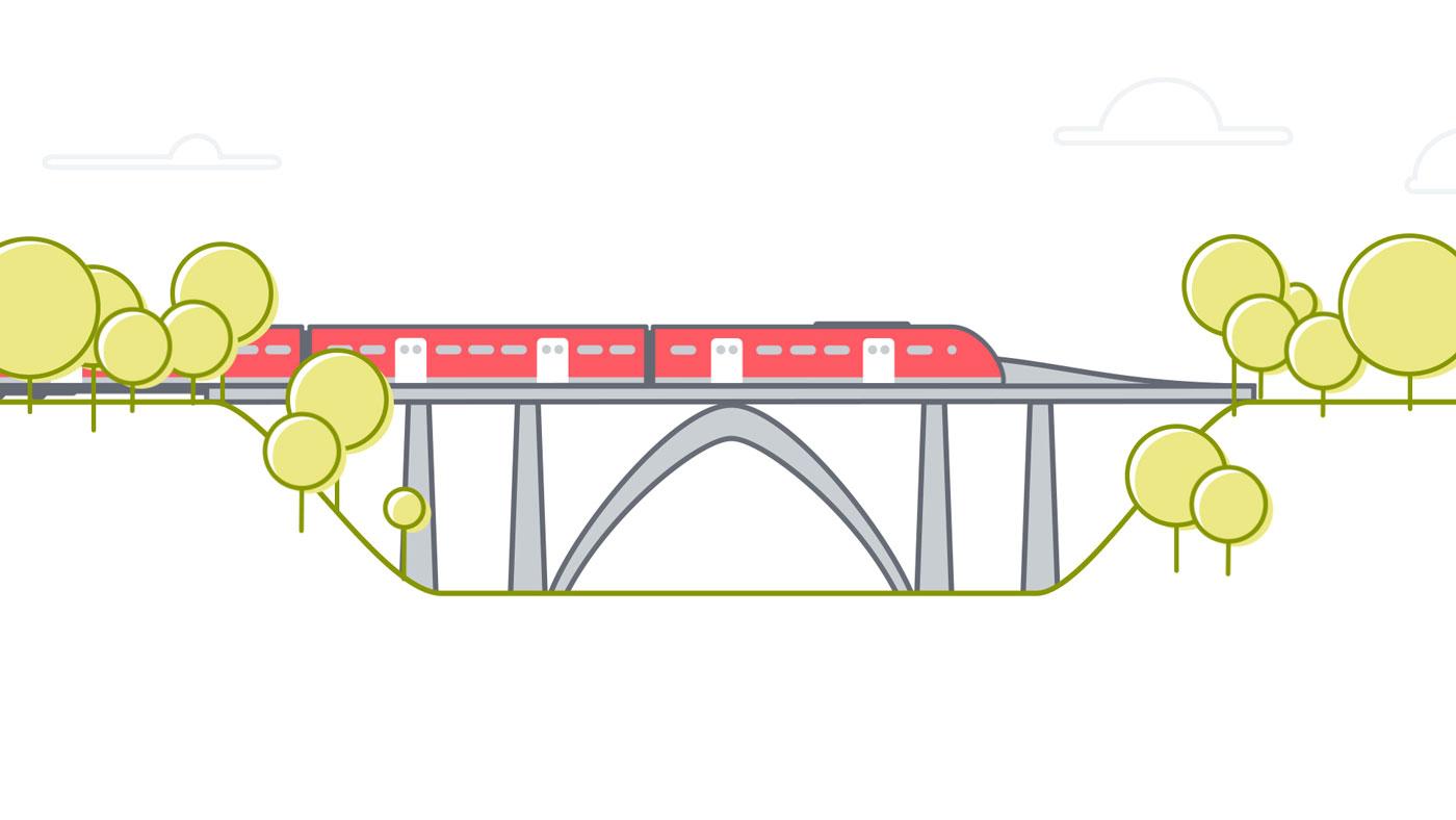 animation still railway bridge for deutsche bahn - christian effenberger