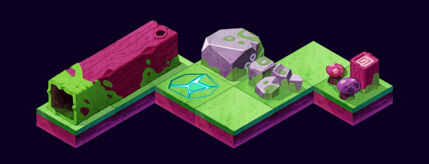 game art acorn tilewalker sprite assets isometric - christian effenberger