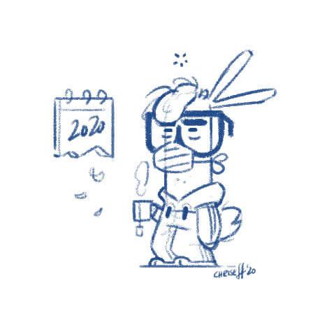 rabbit sketch version 1